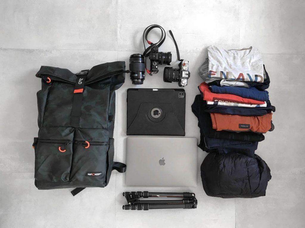 capacité sac photo KF13.096
